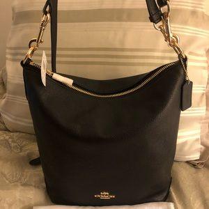 Authentic Coach Abby Duffle Shoulder Bag